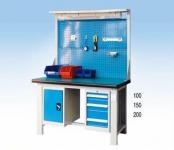 带挂板工作桌WGL1806 WGL2106