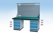 挂板工作桌WGL1804 WGL2104