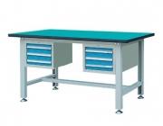 双吊抽轻型工作桌WLD1505 WLD1805 WLD2105