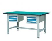 双吊抽轻型工作桌WLD1504 WLD1804 WLD2104